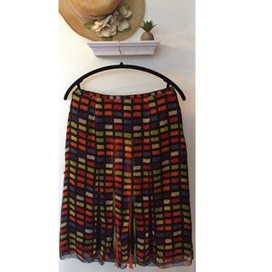 Unique Geometric Ribboned Skirt by Anne Carson